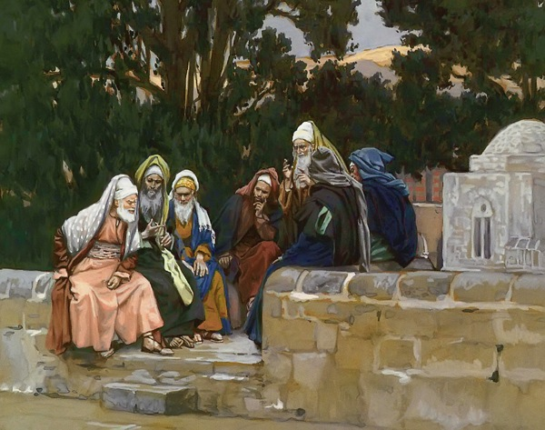 Mark3 6 PhariseesHerodiansConspireAgainstJesus Tissot