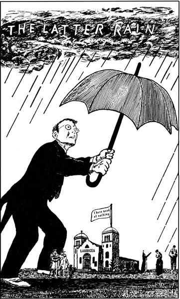 The Latter Rain Umbrella