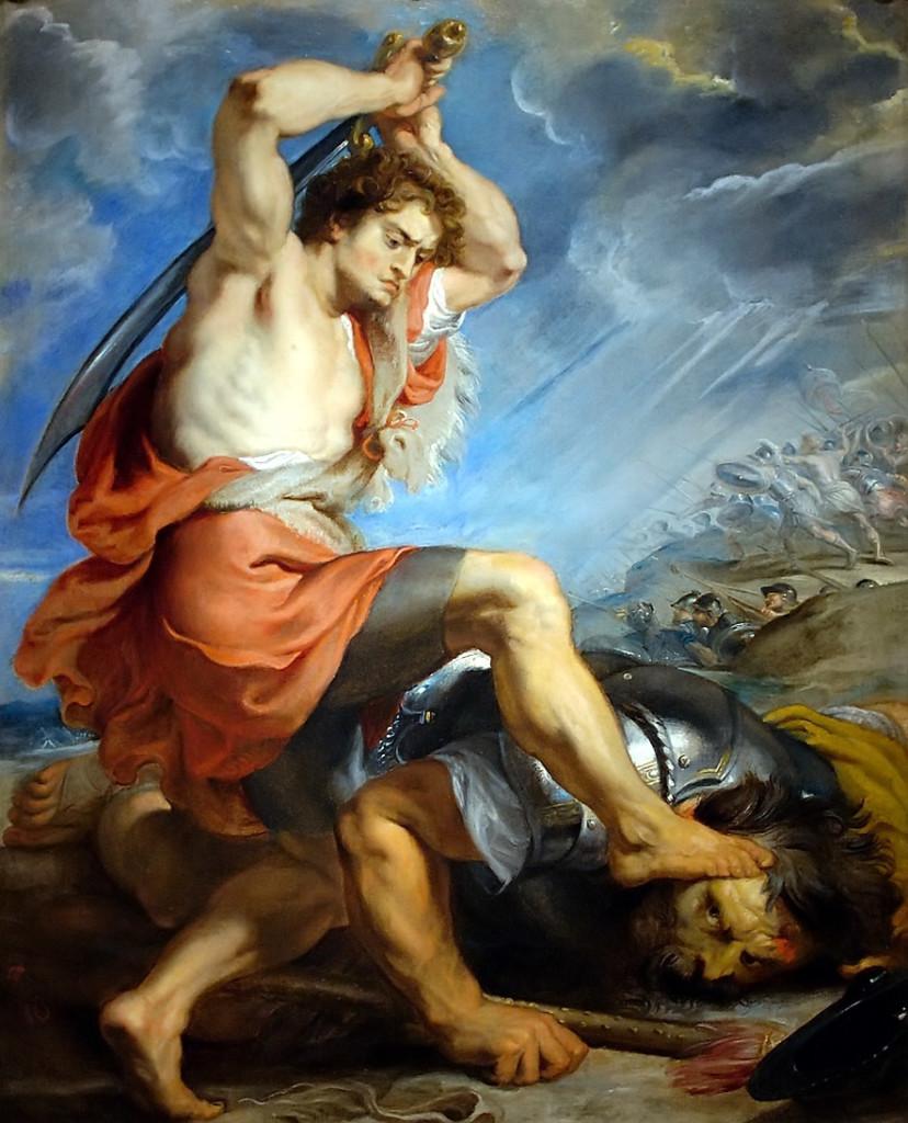David Slaying GoliathPeter Paul Rubens, 1630